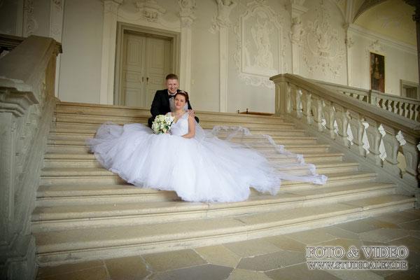 Hochzeitsaufnahmen in Ansbach
