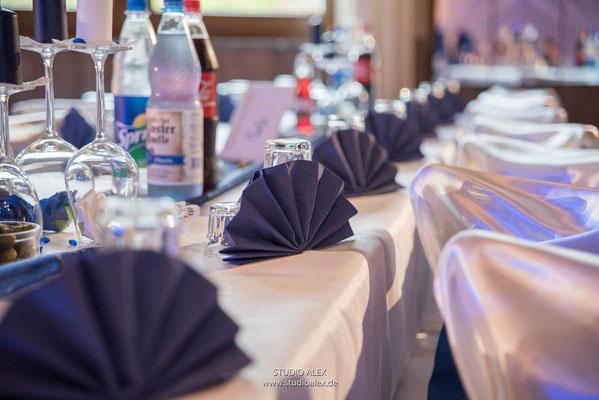 Fotos von der Tischdekoration in Landgasthof Rouherer