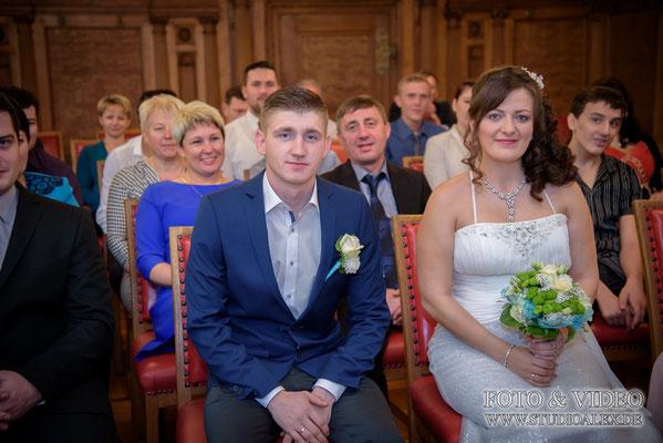 Hochzeitsfotos standesamtliche Trauung in Amberg