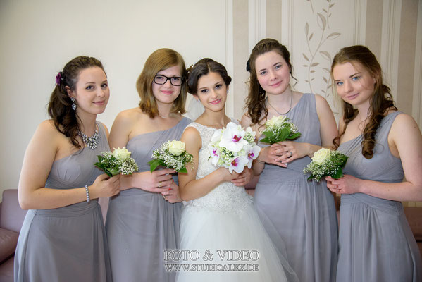 Die Braut Hochzeitsfoto in Schweinfurt
