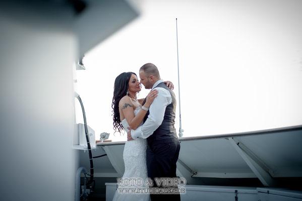 Brautpaar auf der Kristallprinzessin