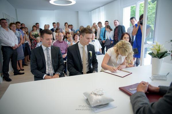 Hochzeitsfotos in Straubing
