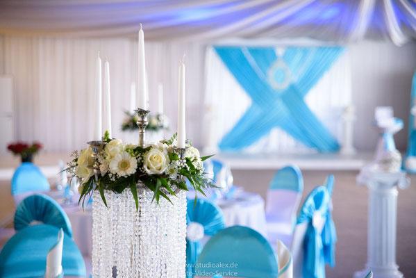 Hochzeit & Hochzeitsdekoration in Böhmfelder Hof Eventlocation Stella