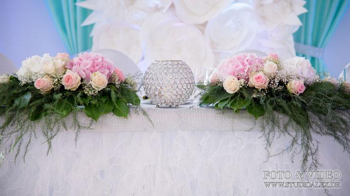 Hochzeitstisch Dekoration in Bayern