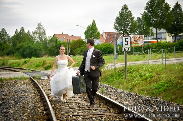 Kreative Hochzeitsbilder in Amberg