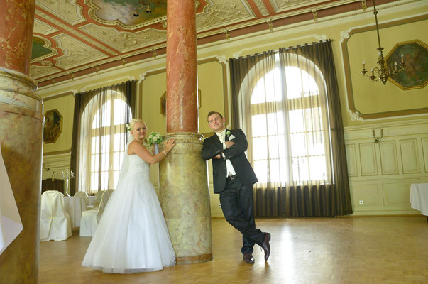 Hochzeitsfotos in Maximilian Hotel Regensburg