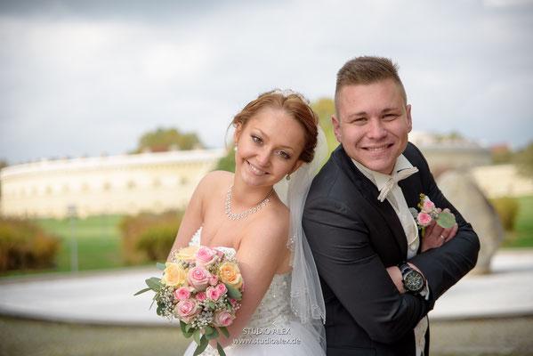 Hochzeitsfotografie in Klenze Park Ingolstadt