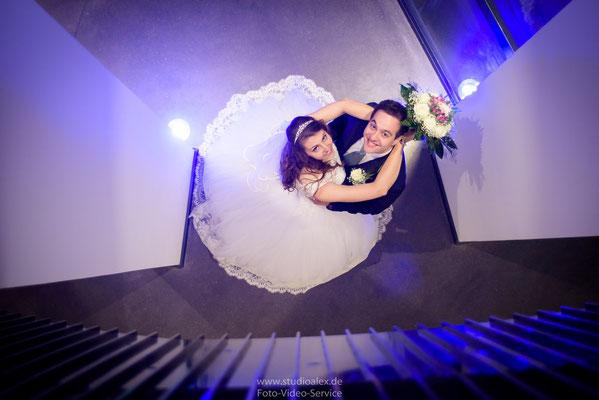 Außergewöhnliche Hochzeitsfotos in Hamburg