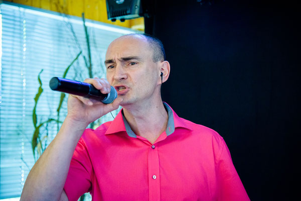 Active Musicband Wladimir Sänger