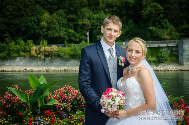 russischer Hochzeitsfotograf in Passau