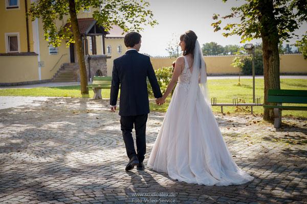 Kreative Hochzeitsfotos in Schwarzenfeld Oberpfalz Bayern