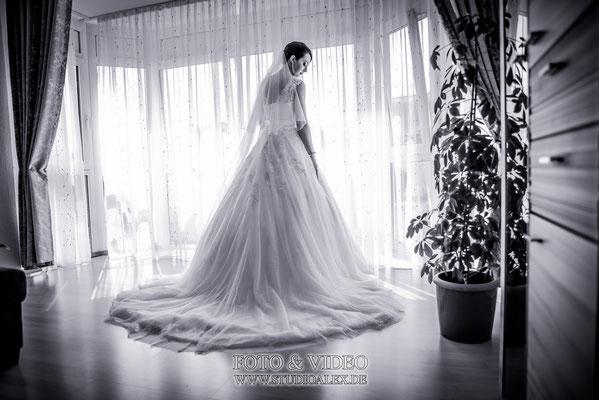 Hochzeitsbild Braut  Natalia aus Nittendorf