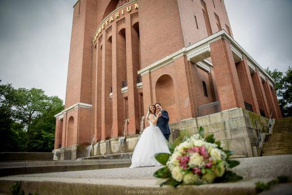 Romantische Hochzeitsfotos in Hamburg