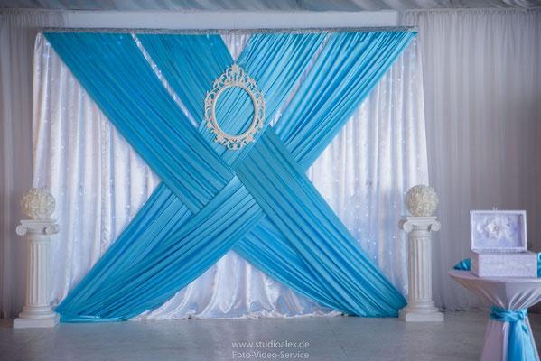 Hochzeitsdekoration in Böhmfeld