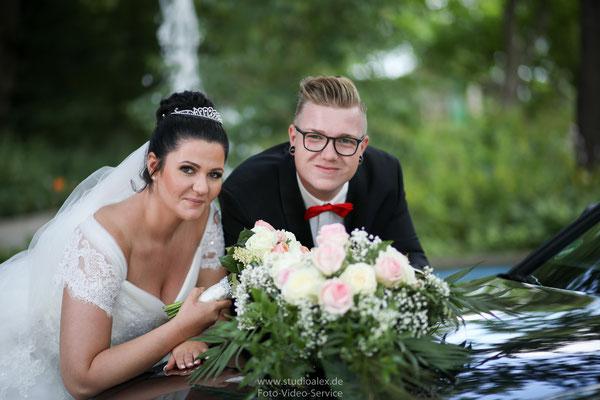 Hochzeitsbilder & Hochzeitsfotos in Stadtpark Fürth