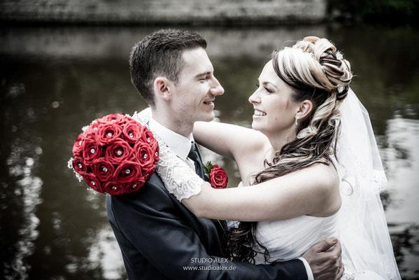 Hochzeitsfotos beim Fotoshooting Weiden in der Oberpfalz