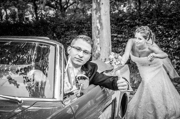 Lustige Hochzeitsfotos in Nürnberg