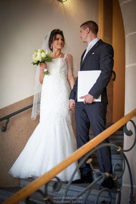 Hochzeitsfotografie im Standesamt Fürth