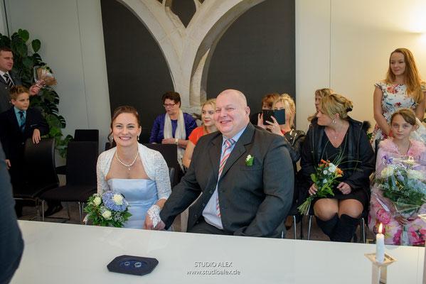Hochzeitsfotografie standesamtliche Trauung