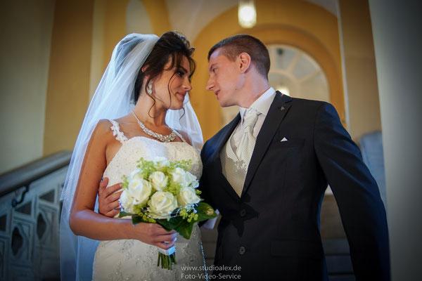 Außergewöhnliche Hochzeitsfotos in Fürth
