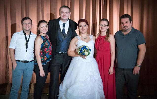 Hochzeitsfotos mit russischer Musikgruppe Nigth & Tamada Hochzeit in Amberg Oberpfalz