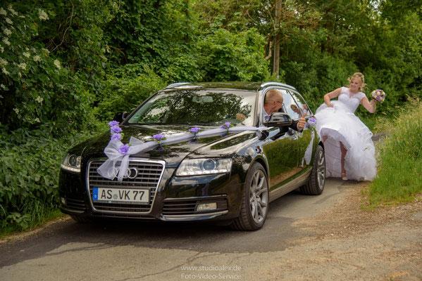 Lustige Hochzeitsfotos in Sulzbach-Rosenberg