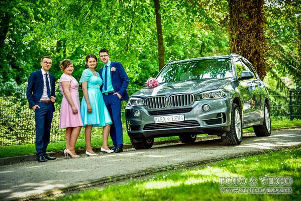 Gruppenfotos Hochzeit in Regensburg