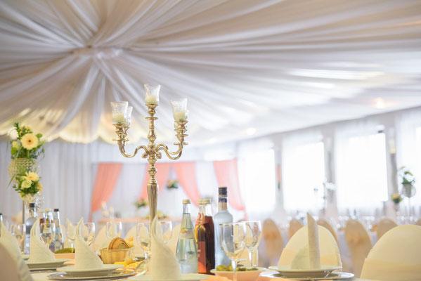 Suche nach einem Hochzeitsdekorateur