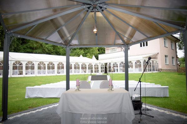 Hochzeitsdekoration für FREIE TRAUUNG in Oberpfalz