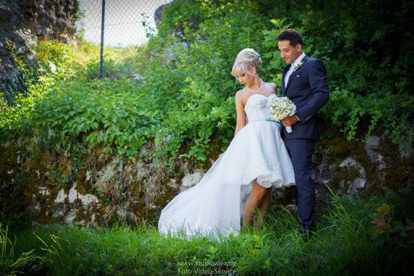 Romantische Hochzeitsbilder im Laaber