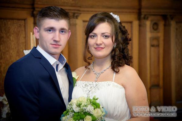 Fotografie Hochzeit  im Rathaus Amberg