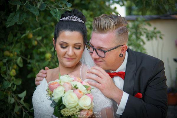 Hochzeitsfotografie standesamtliche Trauung Fischbach Nürnberg