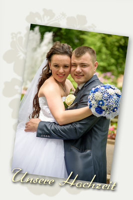 Hochzeitsbilder in Stadtpark Amberg