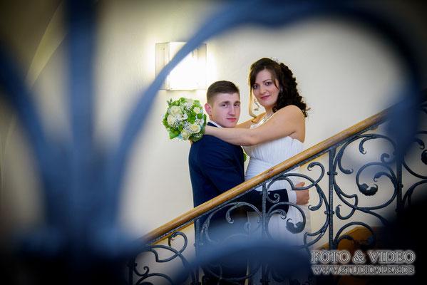 Ideen für Hochzeitsfotos im Rathaus Amberg