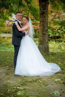 Hochzeitsfotos im Klenzepark Ingolstadt