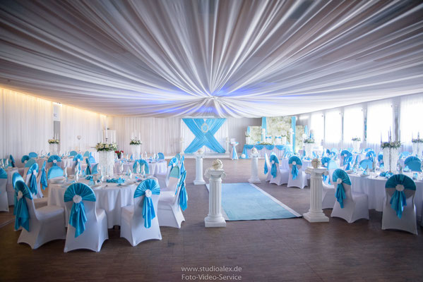 Hochzeit & Hochzeitsdekoration in Böhmfelder Hof von Eventlocation Stella