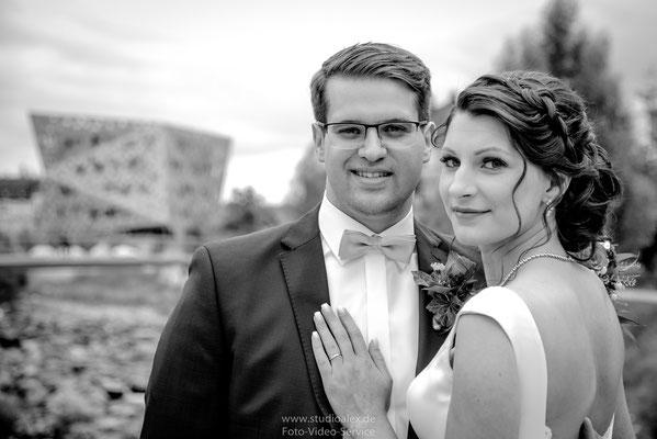 Hochzeitsfotografie in Schwäbisch Gmünd mit Alina & Jeff