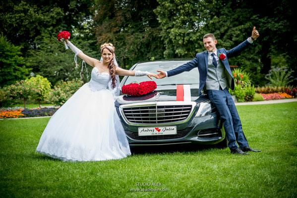 Außergewöhnliche Hochzeitsfotos aus Weiden in der Oberpfalz