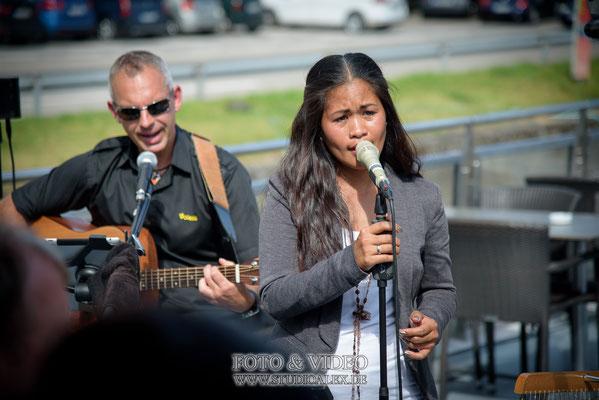 Sängering für die Freie Trauung auf der Kristallprinzessin