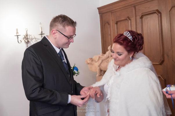 Hochzeitsfotografie für standesamtliche Trauung in Sulzbach-Rosenberg Oberpfalz Bayern