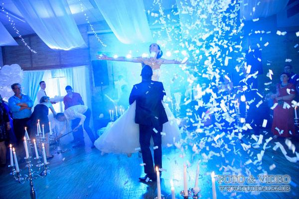 Hochzeitsreportage in Eventhalle Fürth