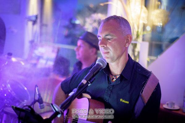 Musikgruppe Voices auf dem Schiff Kristallprinzessin