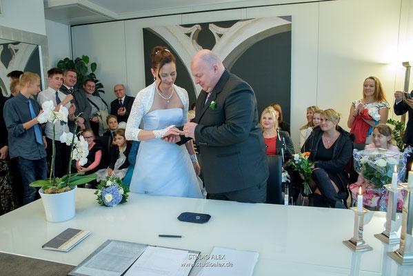Hochzeitsfotografie standesamtliche Trauung Regensburg