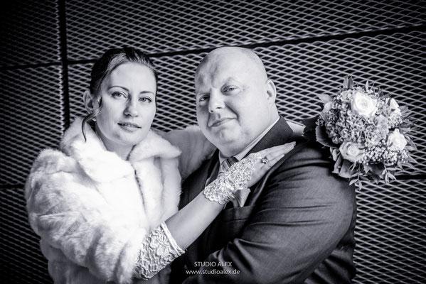 Hochzeitsfotos von standesamtliche Trauung in Regensburg