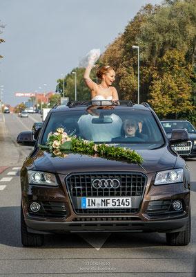 einmalige Hochzeitsbilder in Ingolstadt