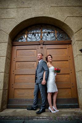 Hochzeitsfotografie standesamtliche Trauung in Bayern
