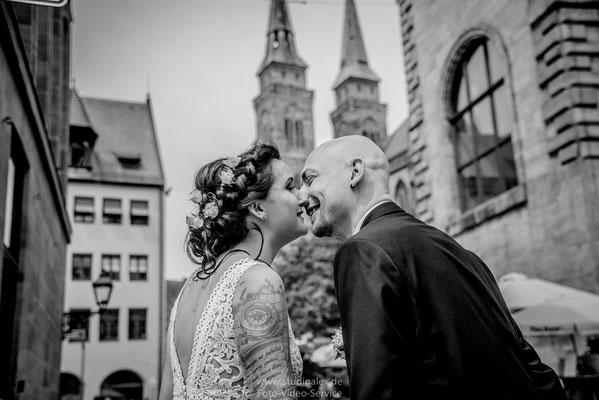 Außergewöhnliche Hochzeitsfotos in Nürnberg