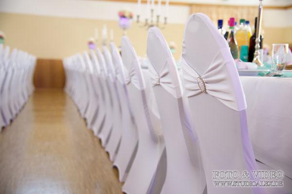 Hochzeitsdekoration Stühle in Nürnberg