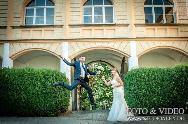 Ideen für Hochzeitsbilder in schloss Guteneck
