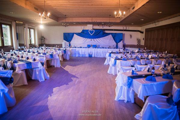 Hochzeitsdekoration Landgasthof Rouherer